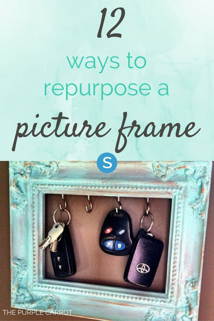 12 Creative Ways To Repurpose A Picture Frame Creative