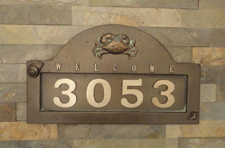 Nautical Seashell & Crab House Numbers / by Georgiegirlstudios, $65.00