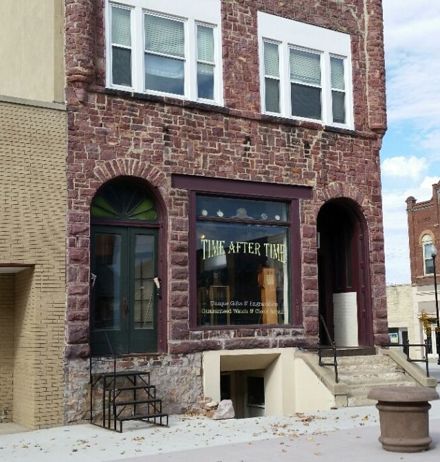 """Sheldon, IA has several historical buildings downtown.  I didn't appreciate them when I was """"cruising the loop"""" every weekend, but looking at them now, they are pretty cool."""