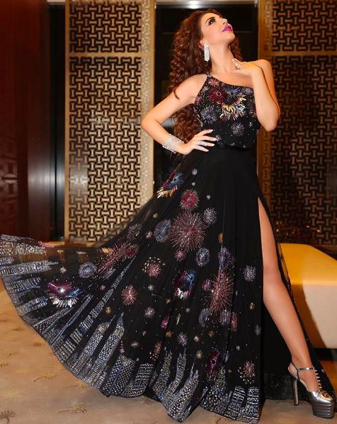 NYE Dress - Myriam Fares in Rami Kadi