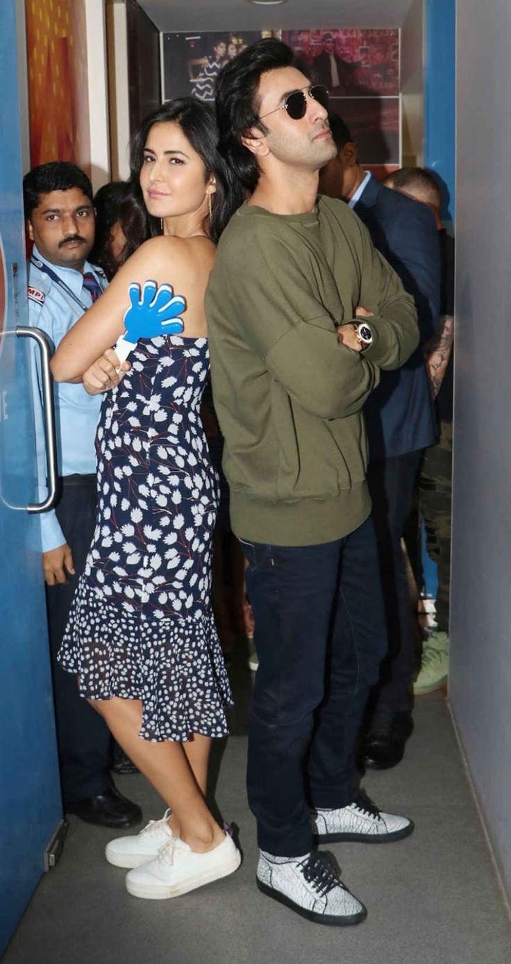 Ranbir kapoor on jagga jasoos i katrina kaif anurag basu have worked very hard on it the indian express - Bollywoodmirchitadka Katrina Kaif Promoting Movie Jagga Jasoos At Radio