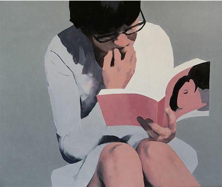 """""""Hay muchas maneras de agrandar el mundo de tus hijos. El amor por los libros es la mejor de todas.""""-Jacqueline Kennedy. Ilustraci{on de Jarek Puczel"""