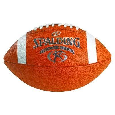 Spalding Rookie Gear Composite Pee Wee Football - Brown