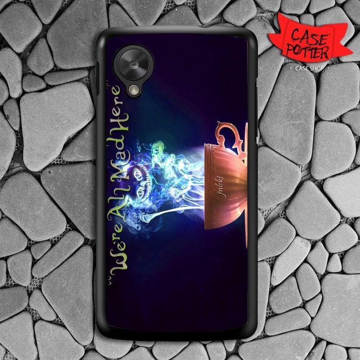 Cheshire Cat Smoke Color Nexus 5 Black Case
