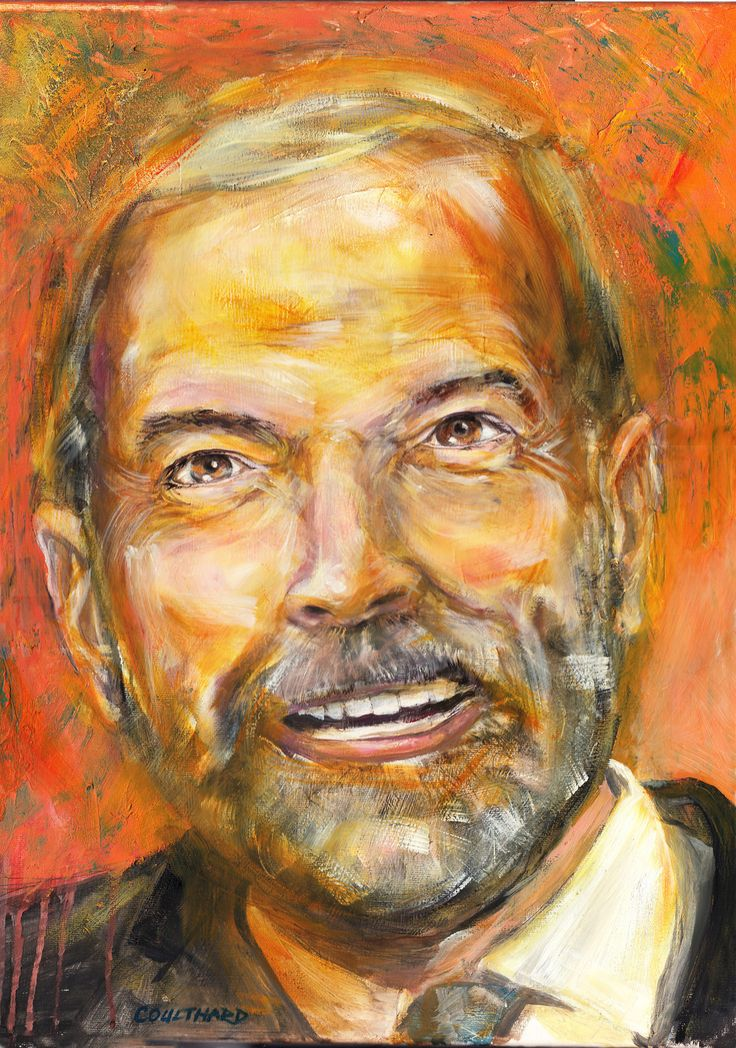 Tom Mulcair portrait