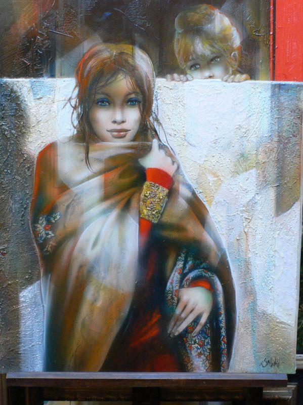 Peintures-LaFemme-Valadie