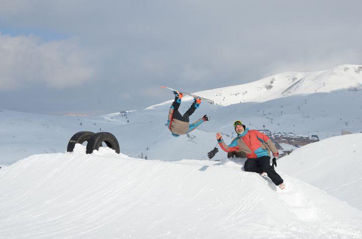 Kawabonga Snowpark -DueeffeShop Team - Backflip -Paolo C.