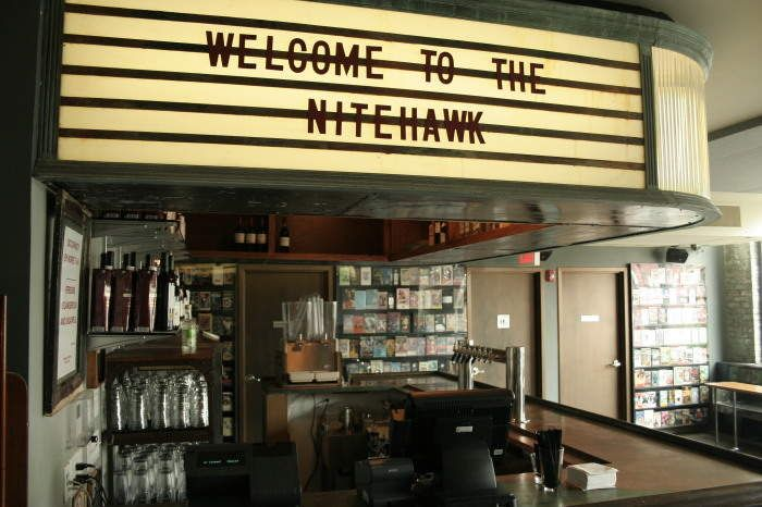 WILLIAMSBURG ||||| Nitehawk Cinema | dinner at the movies. Some movies have themed dinner options
