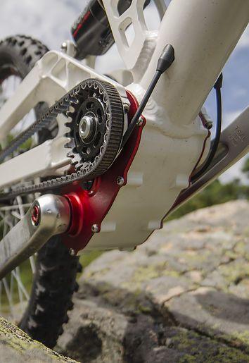 description de la boite de vitesse vélo. bicycle gearbox description