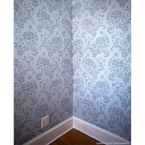 wallpaper that looks like stencils - photo #22
