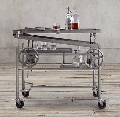 Bar Storage & Carts | Restoration Hardware