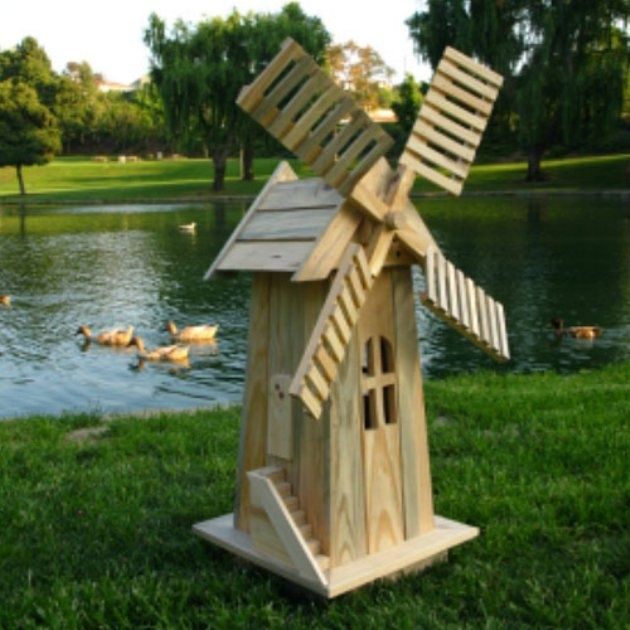 Shine Company Rodez Decorative Windmill   Add Charm And Distinction To Your  Garden With The Shine Company Rodez Decorative Windmill .