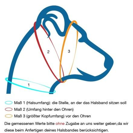 Zugstopp-Halsbänder richtig vermessen   http://www.dog-smilla.de/zugstopp-halsbander-richtig-vermessen/