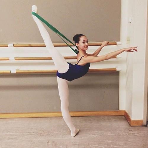 Yay ...! C'est une excellente idée. Il m'a inspiré à faire la même chose tous les jours à l'école de ballet ...