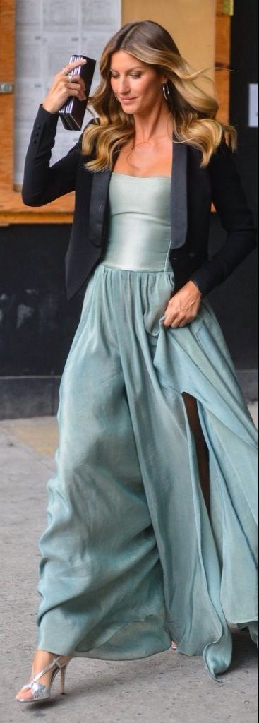 beautiful  robin's blue gown