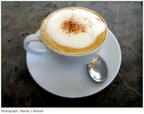 Cappuccino Quest: Cosecha Restaurant In Paarl Outside Cape Town, South Africa, Makes Great Food But Dire Coffee #cappuccino_quest #cappuccino #food #capetown