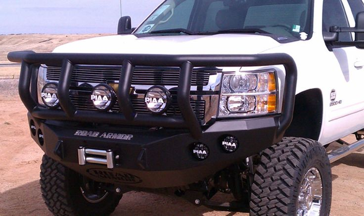 Truck Grill Guards And Bumpers : The road armor titan bumper is a full grille guard