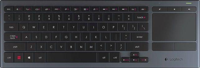 Logitech Black K830 Illuminated Keyboard $49.99 + Free Shipping!
