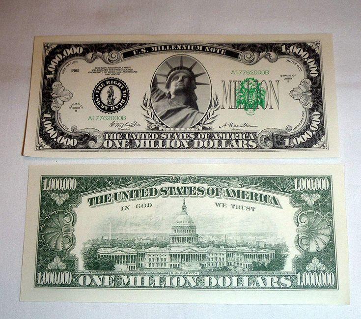million-dollar bill – Google Search