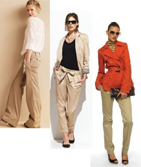 58 best images about Stylinu0026#39; with Khakis on Pinterest | Jennifer aniston Blazers and Pants