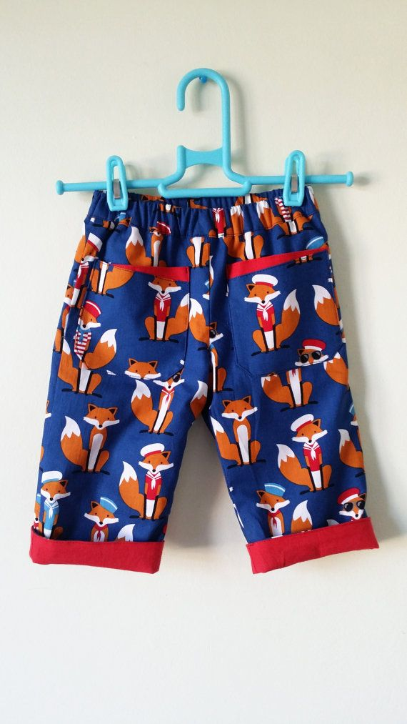 Check out this item in my Etsy shop https://www.etsy.com/uk/listing/268893695/fox-trousers-blue-boys-trousers-fox