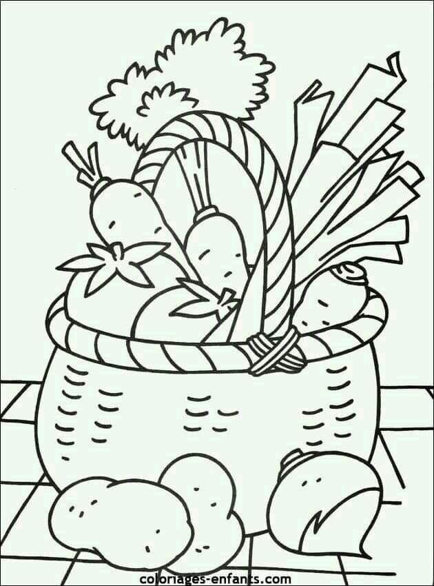 Pin By Diah Tuti On Moldes Y Dibujo Coloring Pages Fruit Coloring Pages Vegetable Coloring Pages