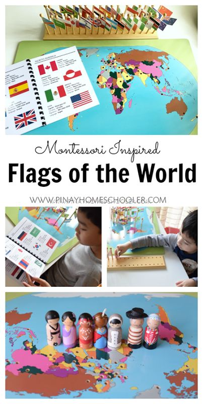 Learning about the countries and flags