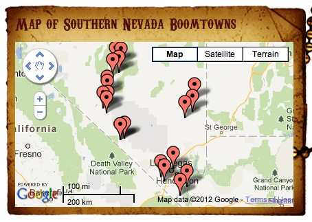 Southern Nevada in the early 20th Century - Boom Towns