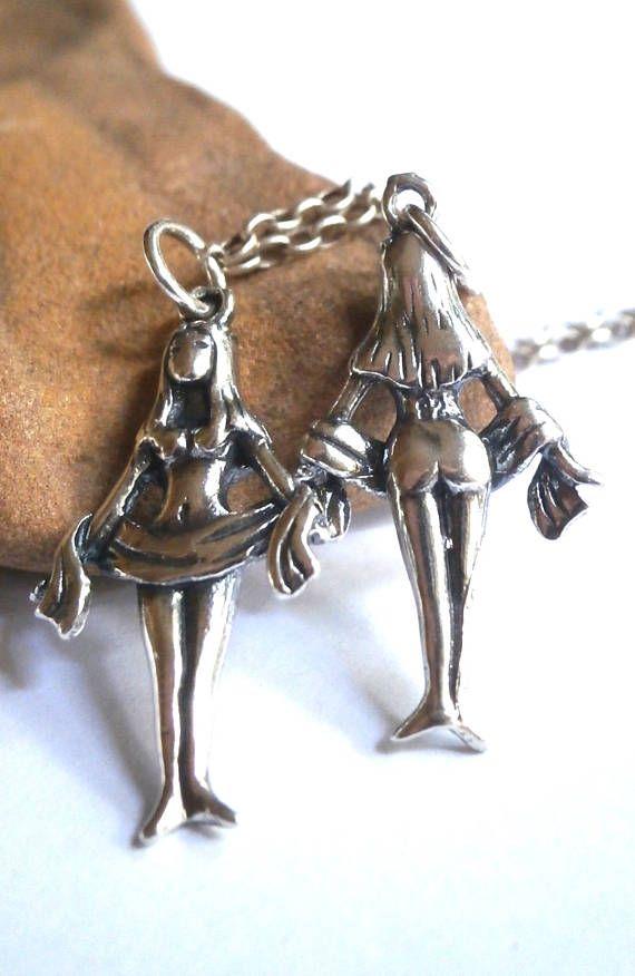 Silver Women Pendant Virgo Zodiac Pendant Virgo Zodiac