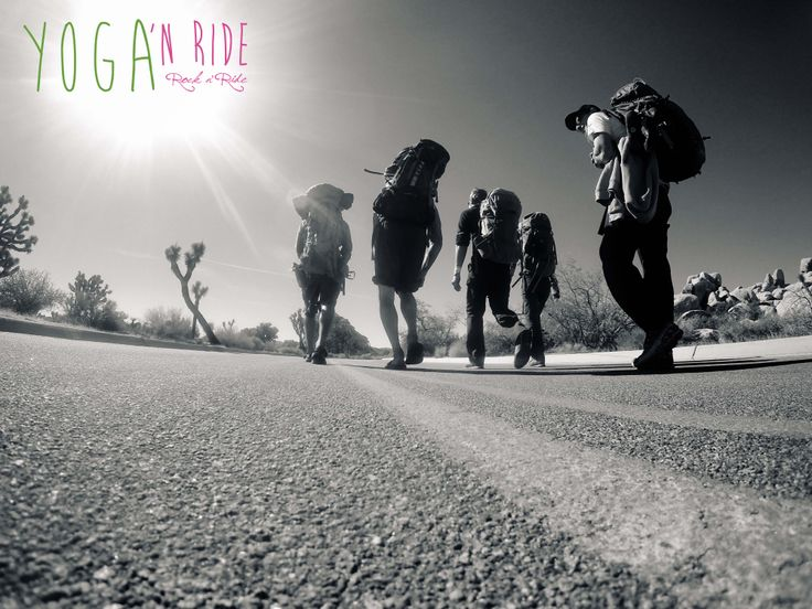 We are on our way @ Joshua tree www.yoganride.blogspot.com