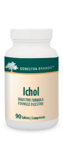 Ichol by Genestra. Ichol contains a combination of choline, inositol, L-methionine and herbs.
