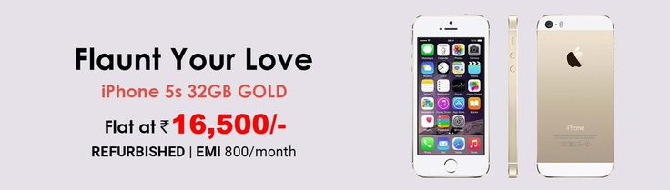#Apple #Iphone5S #32GB Gold at just Rs16,500.Buy the #Smartphone now only on http://togogogo.com .Shop Now : http://bit.ly/2q10god