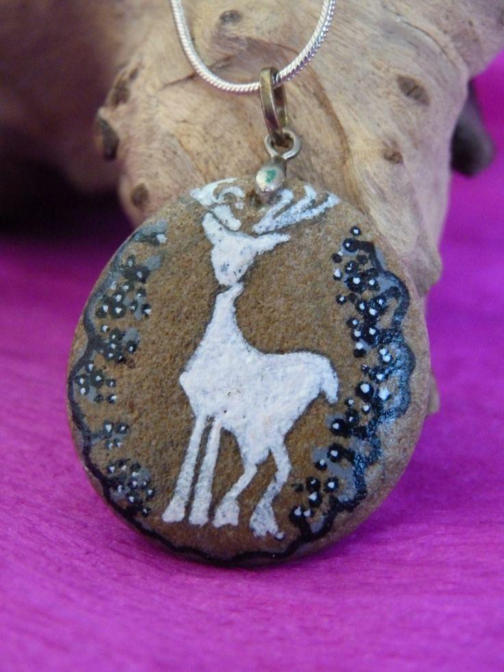 Colgante artesanal ciervo