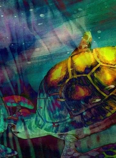 Tradigital Photo on Cricketts Inky Art Blot