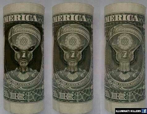 Illuminati's Demonic Master Hidden On Money