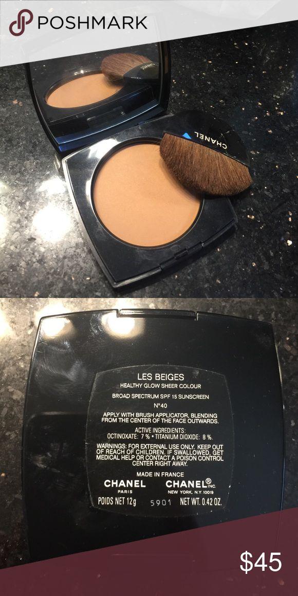 CHANEL LES Beiges #40 Makeup Bronzer