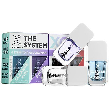 Formula X The System XCEL(TM) -Customizable Gel-Like Nail Polish Set