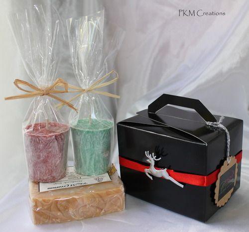 Soap & Candle Mini Pamper Pack