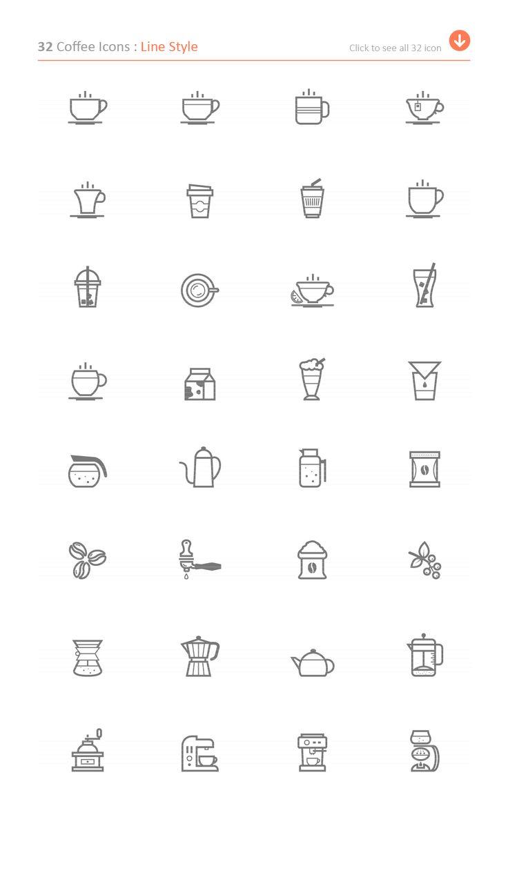 Coffee Icon by ctrlastudio on @creativemarket