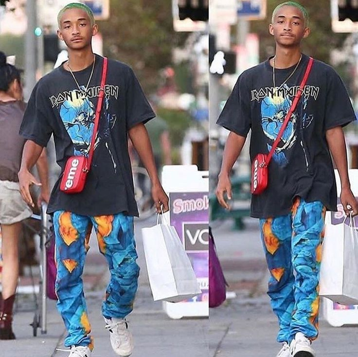 Jaden Smith x Iron Maiden