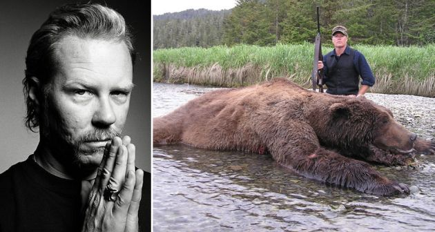 Go to https://www.facebook.com/History and tell them how you feel about this!!! ATROCIOUS!! This is absolutely absurd! I'm so pissed off! I am appalled at The History Channel and James Hetfield.Should have spent that bankroll on donations to organizations that work so hard to preserve what is left of the beautiful creatures that man keeps endangering and destroying by mindless cold hearted killing. Disgusting!