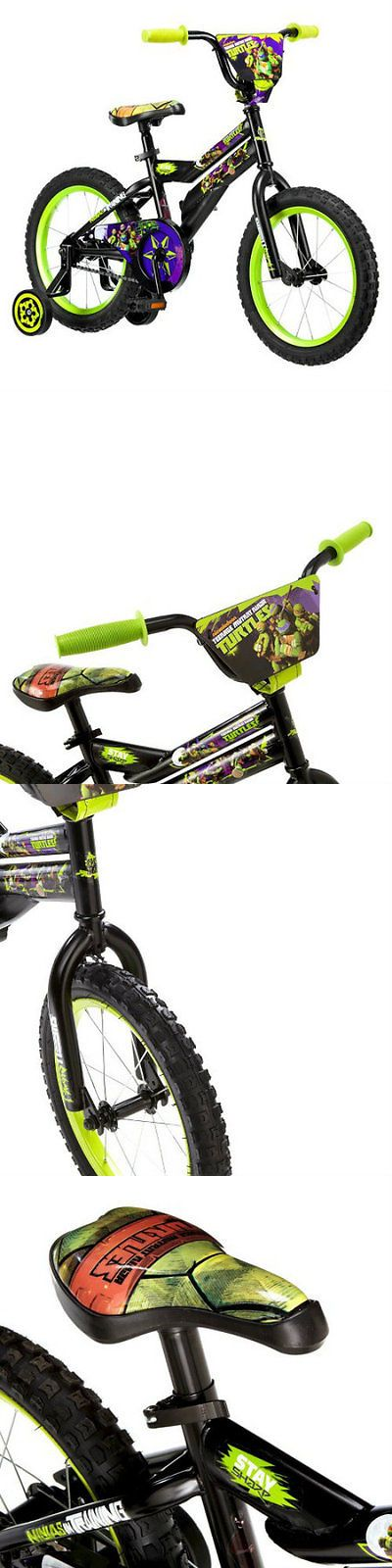 Training Wheels 177839: Nickelodeon Teenage Mutant Ninja Turtles Boys Bike Black Training Wheels Young -> BUY IT NOW ONLY: $97.99 on eBay!