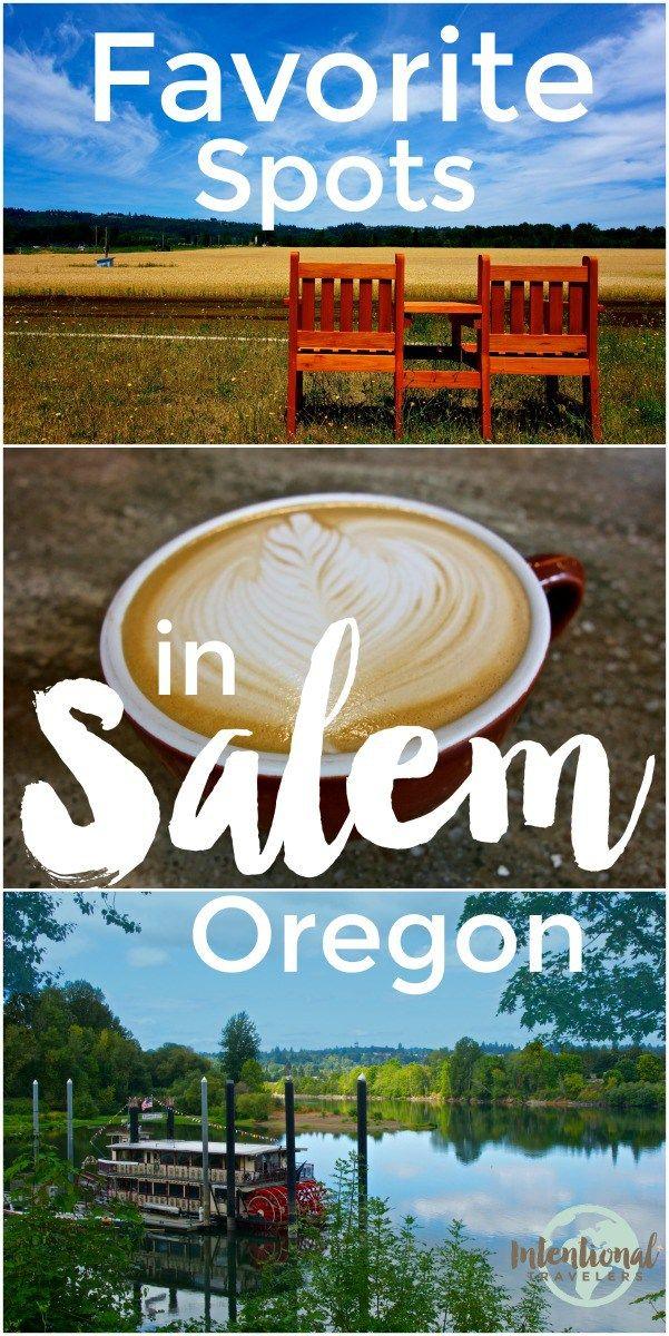 Best cafes and parks in Salem, Oregon