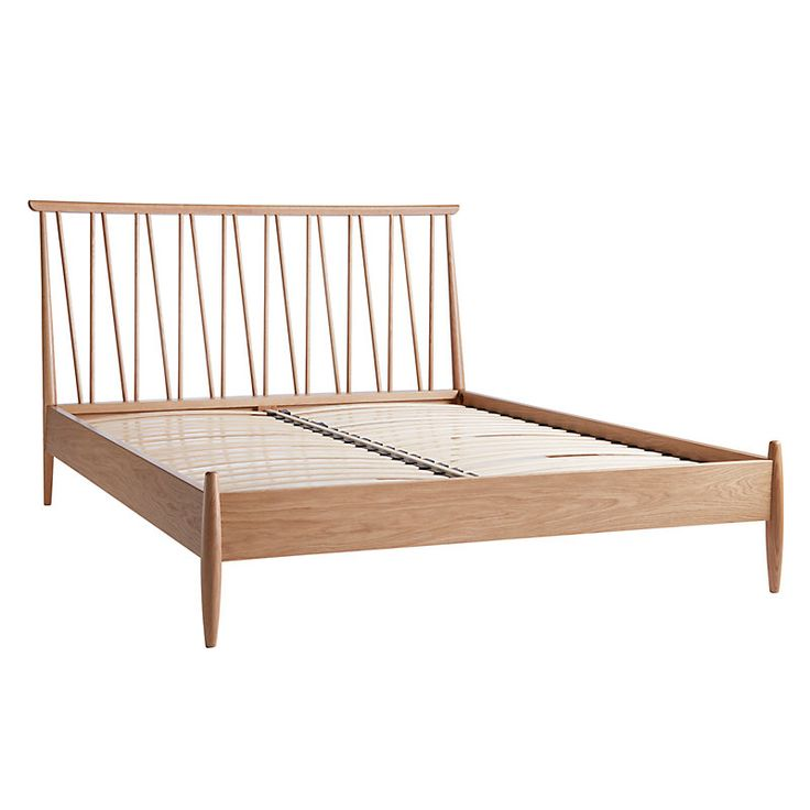 ercol for John Lewis Shalstone Bed Frame, Oak, King Size