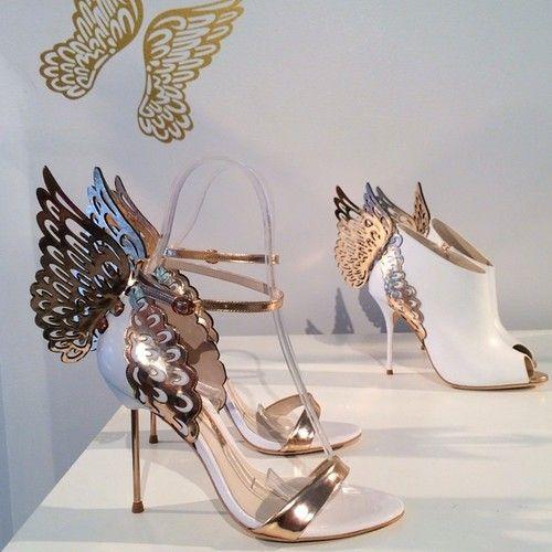 Sophia Webster Butterfly Heels! Courtesy of sent pin from @Margaret Walker!