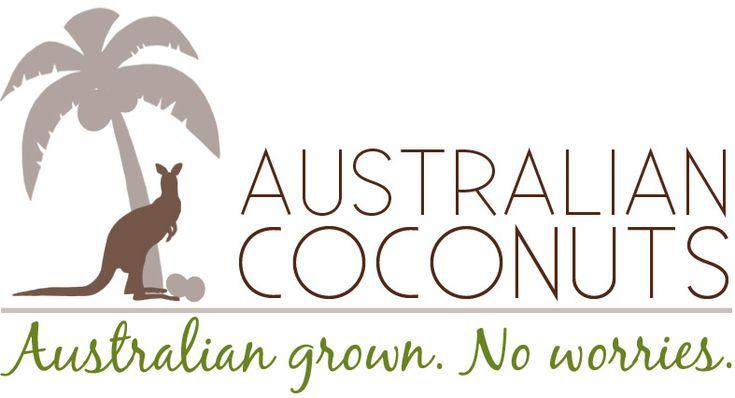 www.ozcoconuts.com Australian Coconuts logo
