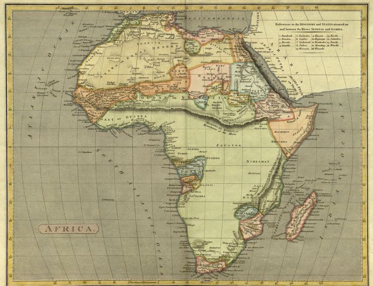Northern Africa Antique Maps - Antique Maps Vintage Maps