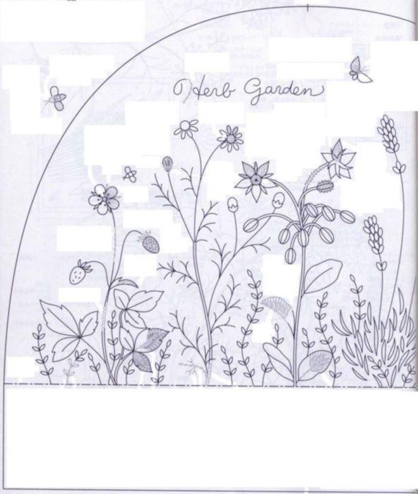 Вышиваем грелку для чайника * Схема вышивки гладью. Обсуждение на LiveInternet - Российский Сервис Онлайн-Дневников