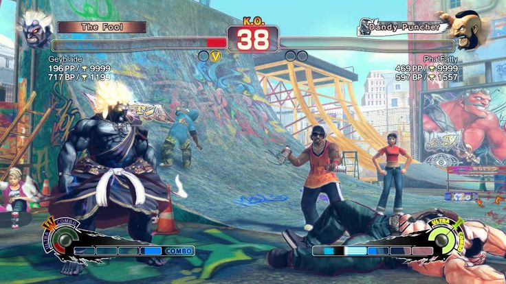 Ultra Street Fighter IV battle: Zangrief #USFIV