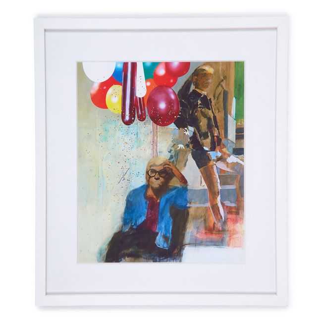 Peter Blake Portrait of David Hockney (framed print) | Framed prints | Tate Shop